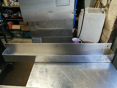 No318 Stainless Steel Back Bar Drink Holder 1070Mm X 100Mm X 155Mm High