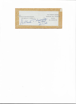signed by marshall of the royal air force sir arthur t harris