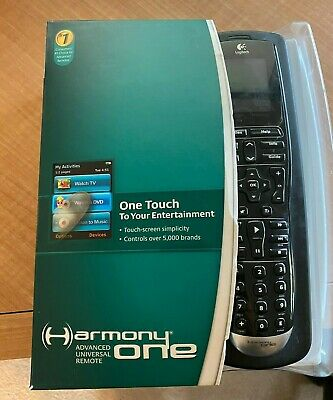 Logitech Harmony One Advanced Universal Remote Control With Charging Dock