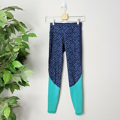 Old navy go dry active Leggings blue in euc size xs