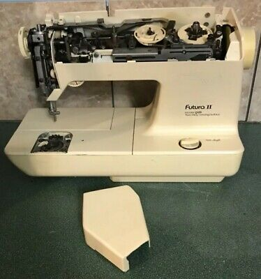 Vtg Singer Futura II 925 Embroidery Two Way FOR PARTS NOT WORKING
