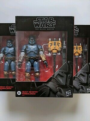 STAR WARS HEAVY INFANTRY MANDALORIAN Black Series Mandolorian Best Buy IN HAND