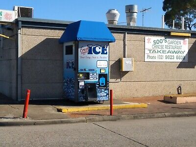 Kooler Ice Vending Machine Business - located in great spot, operating business
