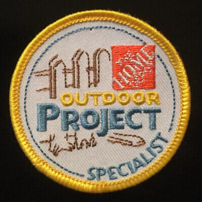 Accurate Cashier Transactions pin, swag, badge The Home Depot Apron Patch