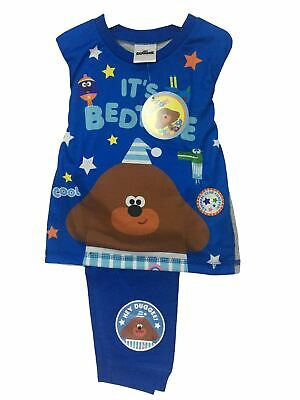 Hey Duggee Boys Blue It's Bed Time Snuggle Fit Pyjamas
