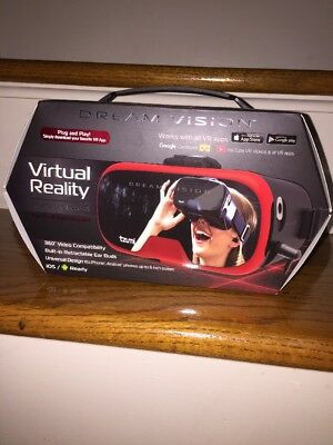 Tzumi NEW NIB DREAM VISION VIRTUAL REALITY Google Play Smartphone VR Headsets