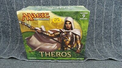 Magic The Gathering MTG Theros Fat Pack Bundle - Factory Sealed New English