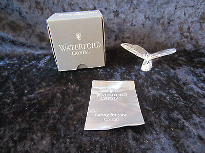 Waterford Crystal Butterfly Figurine Paperweight