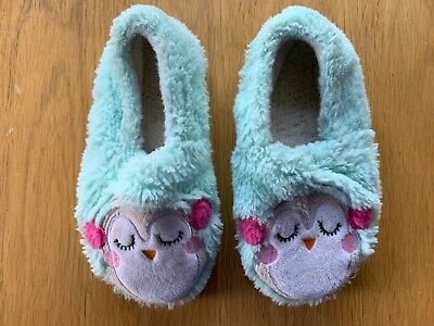 Girls Fleece Slippers ** Junior Size 12 **