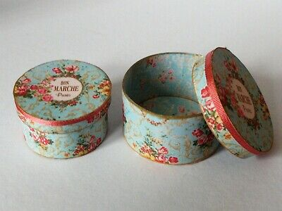 Dolls house printie KIT - Shabby Chic Hat Boxes -FREE UK POST