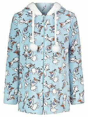 Disney Frozen 2 Olaf Fleece Playsuit all in one pj set BNWT