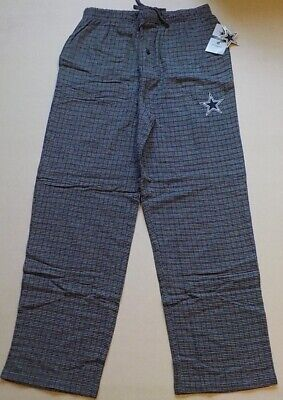 Dallas Cowboys Authenic Apparel Mens Sleep Lounge Pajama Pants M L Xl 2X Flannel