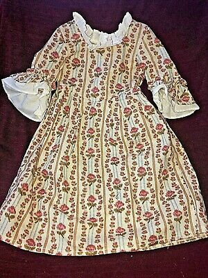 American Girl PLEASANT COMPANY 1993 Felicity Doll's ROSE GARDEN MEET DRESS