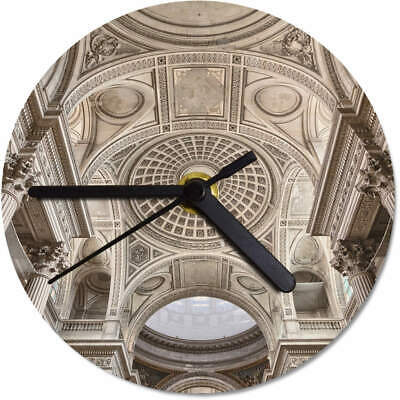 'Ornate Ceiling' Printed Wooden Wall Clock (CK043836)