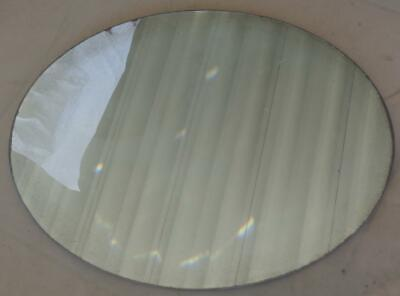 Vintage Oval Shaped Mirror - GDC - GREAT OLD MIRROR FOR CRAFTS - OLDER MIRROR