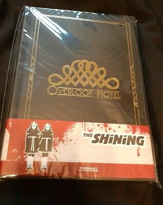 The Shinning Overlook Hotel Journal New In Pack Loot Fright