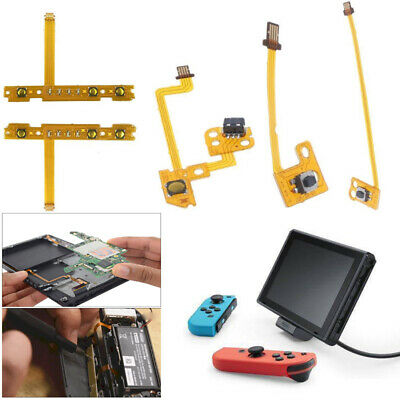Replacement ZR ZL SL SR Button Key Ribbon Flex Cable For Nintendo Switch NEW