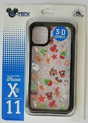 Disney Parks 2019 Christmas Sweet Treat Clear Iphone XR/11 Phone Case NWT