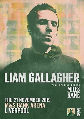 Liam Gallagher Oasis  (Liverpool) Poster A5 A4 A3 A2