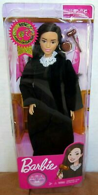 Barbie 2019 Career Of The Year Judge Asian Doll Black Hair/Fxp45/New/Mint