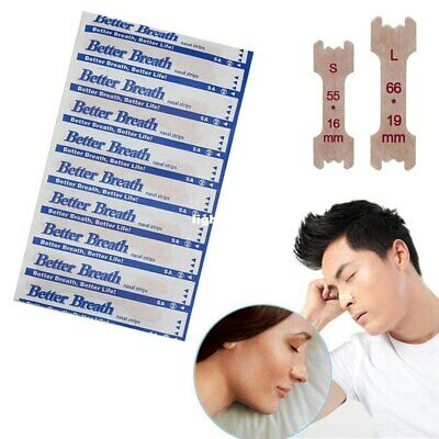 Anti Snoring Nasal Strips Better Breath Nasal Strips Better Sleep Aid Nose strip