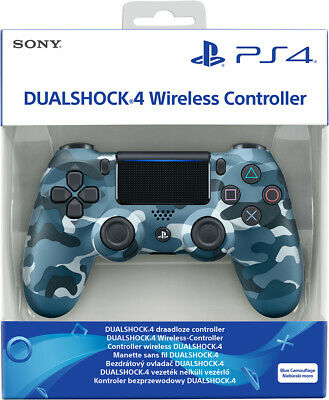 Controller Sony Wireless Ps4 Dualshock 4 Pad Blue Camouflage Playstation 4 V2