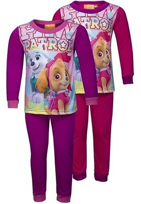 5 DAYS ONLY £6.99 Paw Patrol Girls Character Pyjama Set  - Ages - 2-6 Yrs