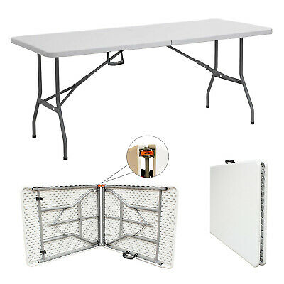 4ft Table Heavy Duty Folding Table Camping Catering Trestle Picnic BBQ
