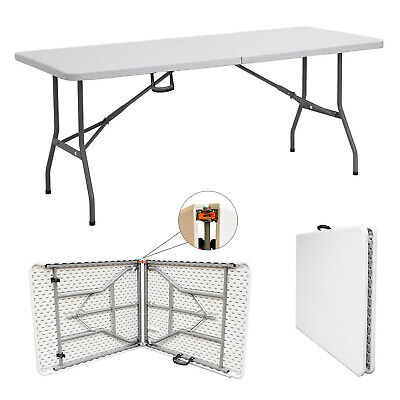 5ft Table Heavy Duty Folding Table Camping Catering Trestle Picnic BBQ