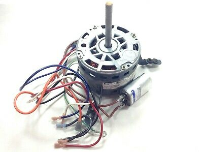 1/3 HP 115 VOLT 1075 RPM 5.3 AMP Furnace Blower Motor 5KCP39 w/ 12.5 Capacitor