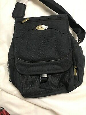 Ricardo Beverly Hills Carry On Toiletry Case Travel Bag. Black. New Without Tags