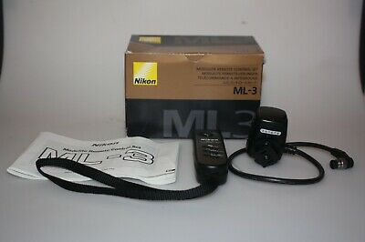 Nikon Ml-3 Modulite Remote Control Set - For Nikon       Mint Boxed!!!!!!!!!!!!!