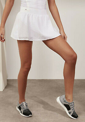 adidas Performance Womens Stella McCartney Barricade Tennis Skirt Skort - White