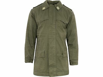 GRADE 1 Genuine Italian Army Olive Green Field Parka with Liner D9/10 IPK1