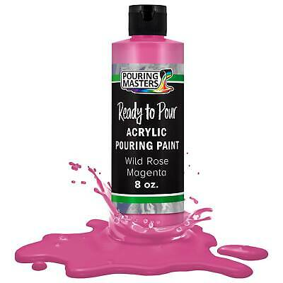 Pouring Masters Wild Rose Magenta 8ozBottle Water-Based Acrylic Pouring Paint