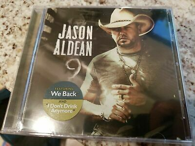 Jason Aldean 9 CD Album 2019 Physical Factory Sealed BRAND NEW Nine