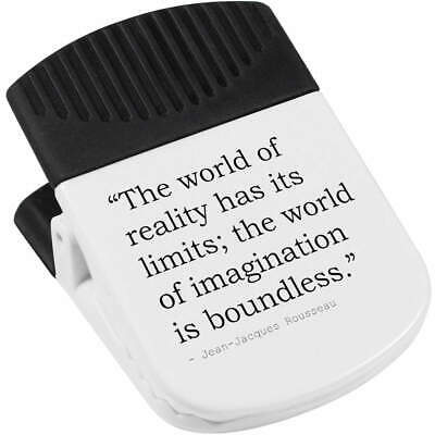 Quote By Jean-Jacques Rousseau Magnetic Clip (CP00009505)