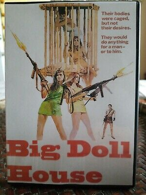 BIG DOLL HOUSE MOVIE POSTER Caged Bodies RARE HOT NEW 1