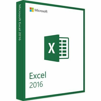 Microsoft Excel 2016 - ESD Download
