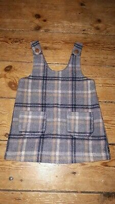 Girls NEXT soft warm Winter Christmas Festive Pinafore Dress 12-18 sold out