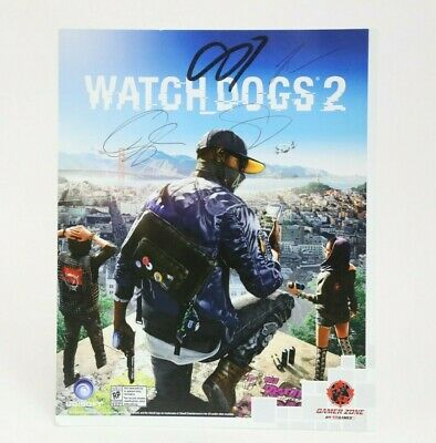 Watch Dogs 2 Signed Promotional Art Print