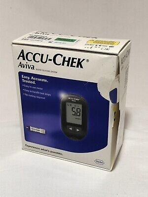Aviva Accu-Chek with 10 Test Strips