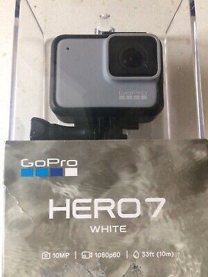 GoPro HERO7 White Action Camera Inc 32GB SD Card Boxed