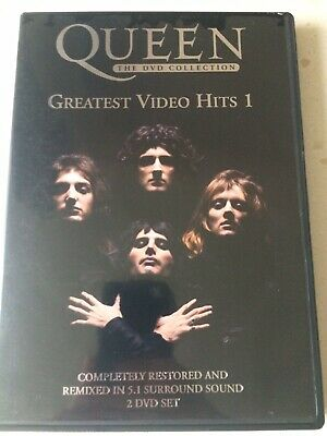 Queen - The DVD Collection: Greatest Video Hits 1 (DVD, 2002, 2-Disc Set) EXC UK