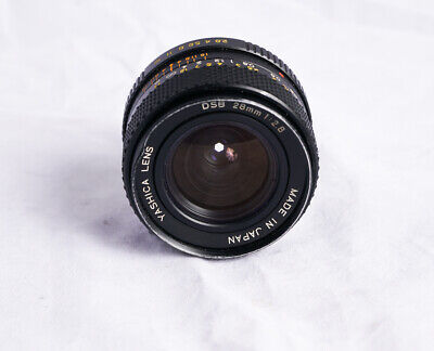 Yashica DSB Lens ML 28mm F2.8 for Contax Yashica