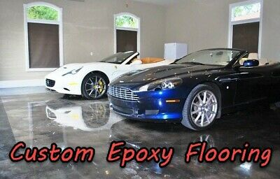 1 GALLON KIT 1:1 - Flex Epoxy Resin high grade flooring Glossy finish