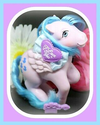 ❤️My Little Pony MLP G1 Vtg Waterfall Playset Sprinkles Pegasus Blue Ducks❤️