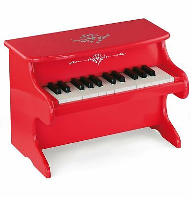 Viga Kids First Piano Red Electronic Keyboard Mini Grand Piano Musical Toy 🎹