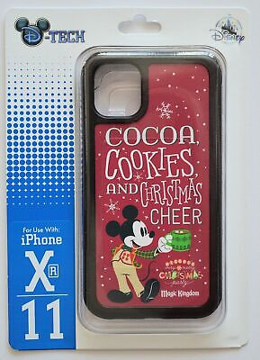Disney Parks Cocoa Mickey's Very Merry Christmas Party XR/11 Phone Case NWT