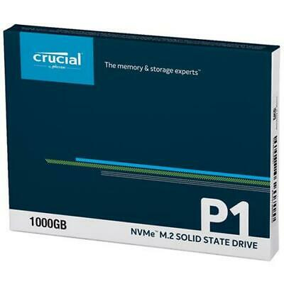 Crucial CT1000P1SSD8 P1 1 TB 3D NAND NVMe PCIe M.2 Solid State Drive